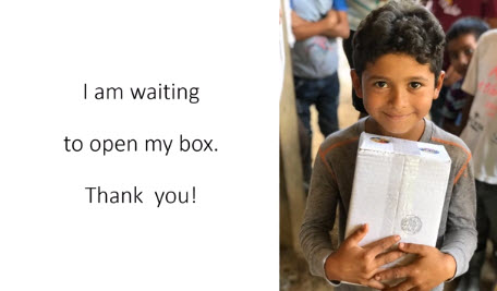Shoe Box Ministry Report & Update
